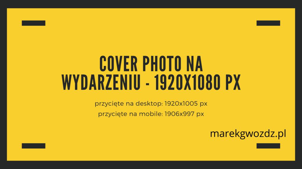 COVER PHOTO NA WYDARZENIU cover photo event facebook size
