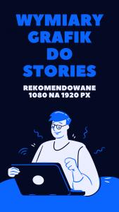 Wymiary grafik do STORIES