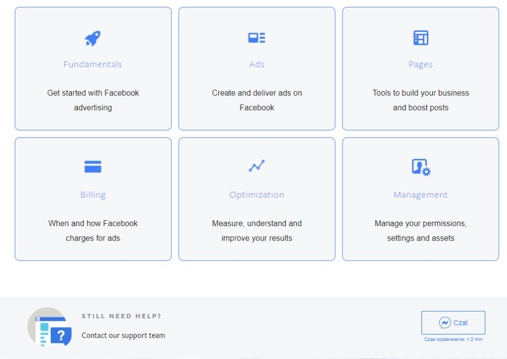 Facebook kontakt  | Facebook Support