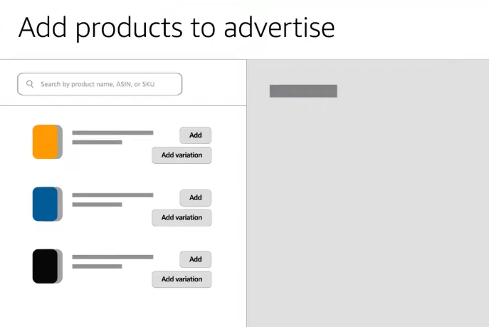 ADD product Amazon Ads